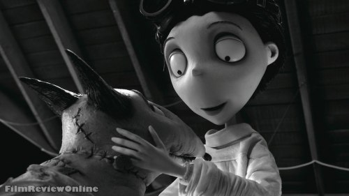 Frankenweenie - Victor and dog Sparky